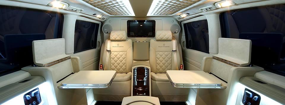 Black Diamond Lifestyle Mercedes Viano Conversion